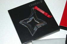 Orrefors Seven Sisters Star Ornament 2008 NEW NIB No.2 in Series of 7
