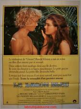 LE LAGON BLEU Affiche Cinéma / Movie Poster Randal Kleiser & Brooke Shields