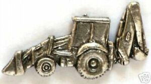 Excavator Digger Pewter Collectable Pin Badge NEW