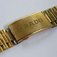 RADO DIASTAR GOLDEN STAINLESS STEEL 18MM BELT FOR  MEN'S WRIST WATCH AD-765