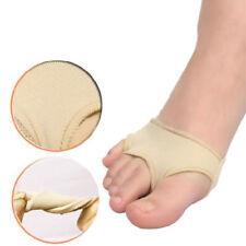 2pcs Fabric GEL Toe Bunion Pad Protector Hallux Valgus Corrector Straightener