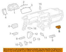 Lexus TOYOTA OEM 13-17 LS460-Clock 8391050081