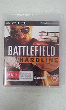Battlefield Hardline Sony Playstation 3 PS3 Brand New & Sealed