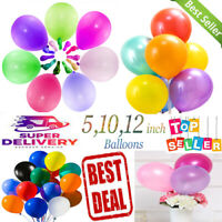 "10-100 10"" 12"" PEARL Metallic BALLOON BALLON helium BALOON Birthday WeddingParty"