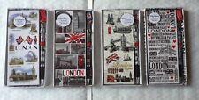 4 X Imán Portátil con London Souvenir Pluma FRIDGE MAGNET británico Recuerdo Regalo