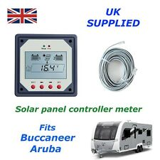 Solar Meter Buccaneer Aruba Charge Controller for dual & single battery 10w 20
