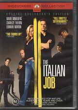 THE ITALIAN JOB - DVD R4 Mark Wahlberg  Charlize Theron - LIKE NEW - FREE POST