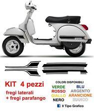Kit Adesivi Fregi Vespa PX laterali + parafango - Moto Scooter LML STAR