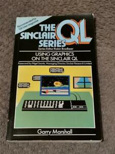 USING GRAPHICS ON THE SINCLAIR QL PAPERBACK - FAST FREE UK POST