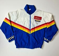 Moog Chassis Parts Racing Vtg 90S Colorful Signed Jacket Adult Large