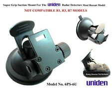 1 Super Grip Suction Mount / Cup Good For The Most Uniden Radar Detector Models