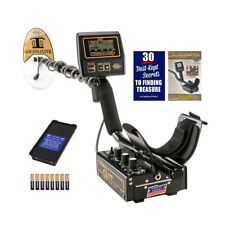 """Whites GMT Metal Detector with 6 x 9"""" Waterproof Goldmaster DD Search Coil"""