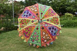 Indio Handmade Jardín Sombrillas Exterior Weddign Parasol Césped Patio Paraguas