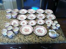 31 piece Masons Stratford England Teacup Coffee mug saucer plate lot lot set cup