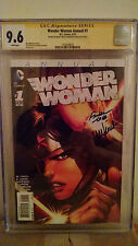 Wonder Woman Annual #1 Cgc 9.6 Autographed by Meredith Finch & David Finch