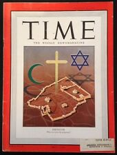Time Magazine  Jerusalem Who Can Write the Judgment? cover August 26 1946 Ads