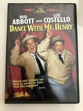 DANCE WITH ME HENRY DVD LOU COSTELLO