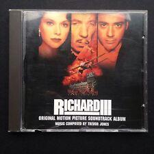 Trevor Jones RICHARD III film soundtrack CD 1995 Ian McKellen Robert Downey, Jr.