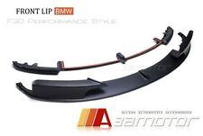 Performance M Tech Bumper Front Lip Spoiler Splitter for 12-17 BMW F30 3-Series