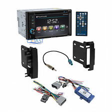 Planet Audio Car Radio Dash Kit Harness Interface for 07-up Chrysler Dodge Jeep
