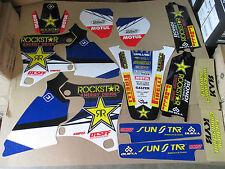 FLU TEAM ROCKSTAR GRAPHICS YAMAHA YZ250F YZ400F YZ426F YZF250 YZF400 YZF426