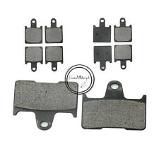 Front + Rear Brake Pads Fit For Kawasaki Ninja ZX14R 2006-2009 ZZR1400 2006 2009