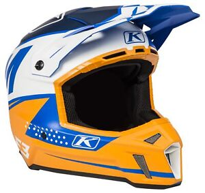 Klim Helmet (ECE/DOT) - Bomber Orange