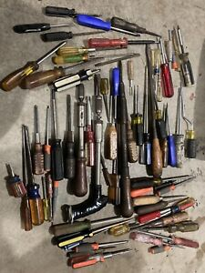 Lot Of Screwdrivers Screw Drivers Tools