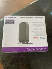 Netgear CM400 High Speed Cable Modem DOCSIS 3.0 Up to 340 Mbps. Never Used.