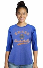 NBA New York Knicks Womens Carmelo ANTHONY #7 3/4 Sleeve Raglan T-Shirt XL