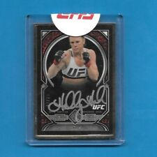 2017 Topps UFC Museum Collection GOLD Frame Autograph  HOLLY HOLM 03/15 Auto