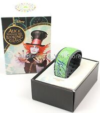 NEW Disney Parks Alice in Wonderland Looking Glass MAD HATTER Magic Band LE 2500