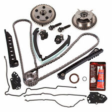 New Timing Chain Kit+Cam Phasers+Cover Gasket FOR Lincoln Ford  3R2Z6A257DA