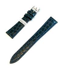 Cinturino Morellato Birmingham Blu 18 mm Stampa Coccodrillo