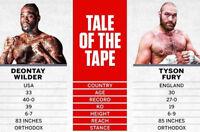 Deontay Wilder vs Tyson Fury fight night photograph 2