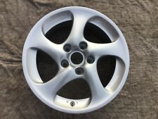 "Porsche 911-996 Turbo OEM Factory Original Hallow Spoke 8JX18"" Front  Wheel"