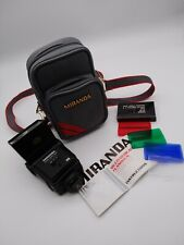 Vintage Miranda 700 CD Multi Dedicated Flash Gun with  bag colour filters works