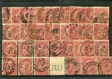 Belgien - Lot aus Nr. 67 o - undurchsucht  ( 13880 )