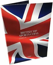NEW 2017 Edition London Olympic Sports 2012 50p Coin Album Xmas Stocking
