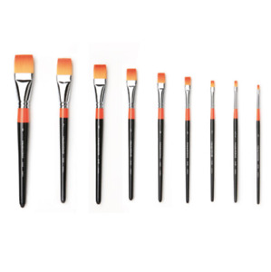 HWAHONG Artist Design Painting Paint Brushes Flat Flat  Brush 948 Series