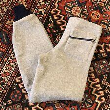 Vintage 1983 Patagonia Bunting Fleece Pants Men's Small 1980's Big Tag Sweatpant