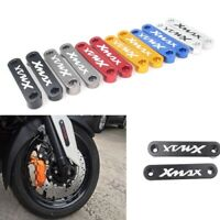 Front Fender Mudguard Axle Coper Plate Decor Cover for Yamaha Xmax 300 2017 2018