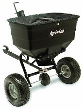 Tow-Behind Fertilizer Spreader 175-Pound Polyethylene Hopper Lawn Cultivaton NEW