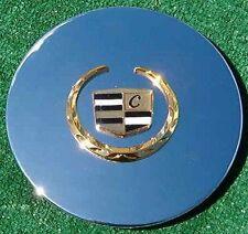 4 Chrome Gold Cadillac Seville Eldorado Allante Deville 7 inch Wheel Center Caps(Fits: Cadillac Seville)