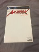 Superman Action Comics 18 Blank Cover Variant  20112 The New 52 Awesome!!!