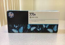 HP 771A B6Y22A Light Gray DesignJet Ink Cartridge - Z6200 - New Genuine OEM 2020