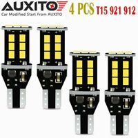 4X AUXITOT15 921 912 W16W CANBUS LED Backup Reverse Light Bulb For Ford GMC EOA