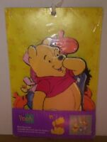 Winnie the Pooh Nursery Wall Art Decor Plaques New in Pkg Vintage Disney CUTE
