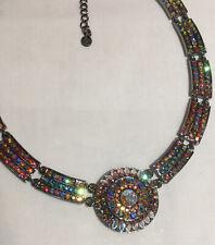 Sparkling Brand New BUTLER & WILSON Swarovski Crystal Covered  Necklace, Boxed
