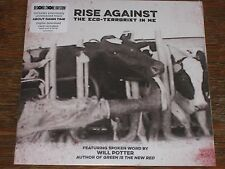 "Rise Against - Eco-Terrorost In Me 7"" NEW  MP3 record store day 2015"
